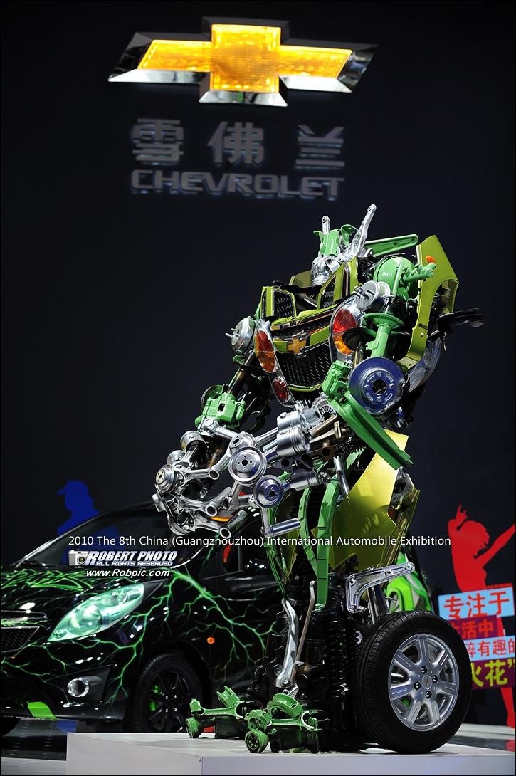 2010第八届广州国际车展车模之雪佛兰  www.robpic.com