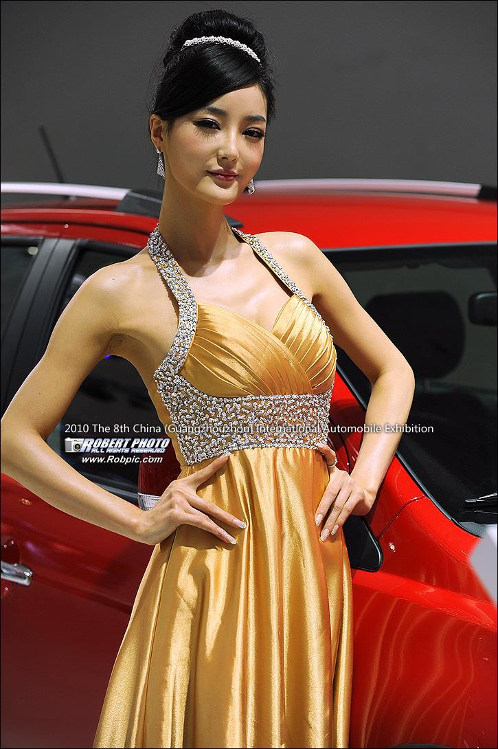 2010第八届广州国际车展之长城车模  www.robpic.com