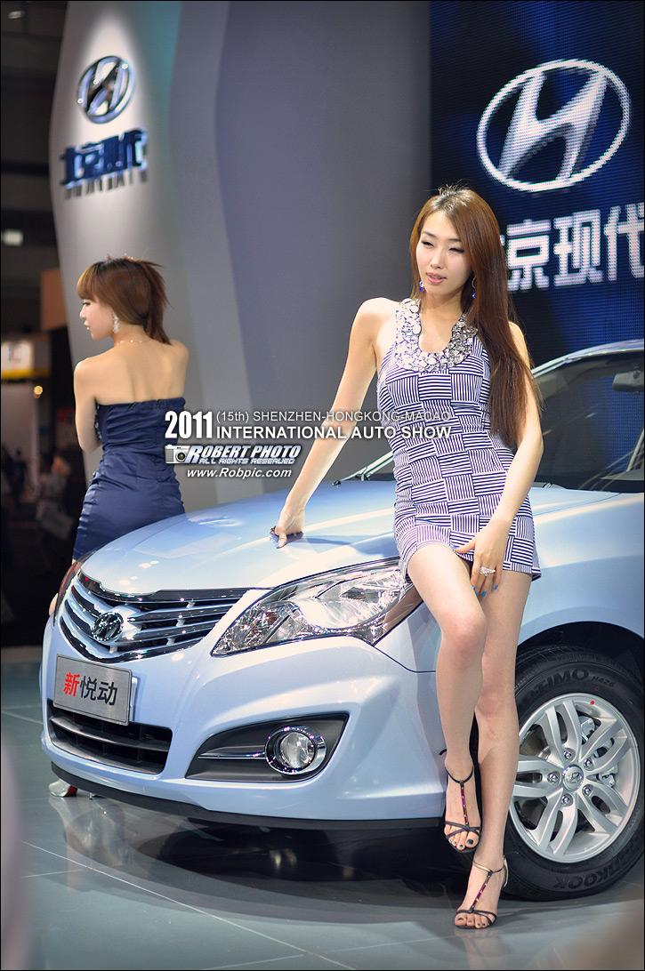 2011深港澳国际汽车博览会 车模  www.robpic.com