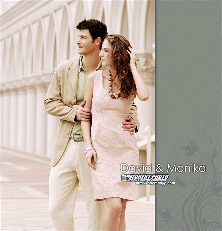 David & Monika在澳门   www.robpic.com