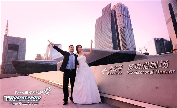 婚纱摄影 Sunny与岑老师的爱  www.robpic.com
