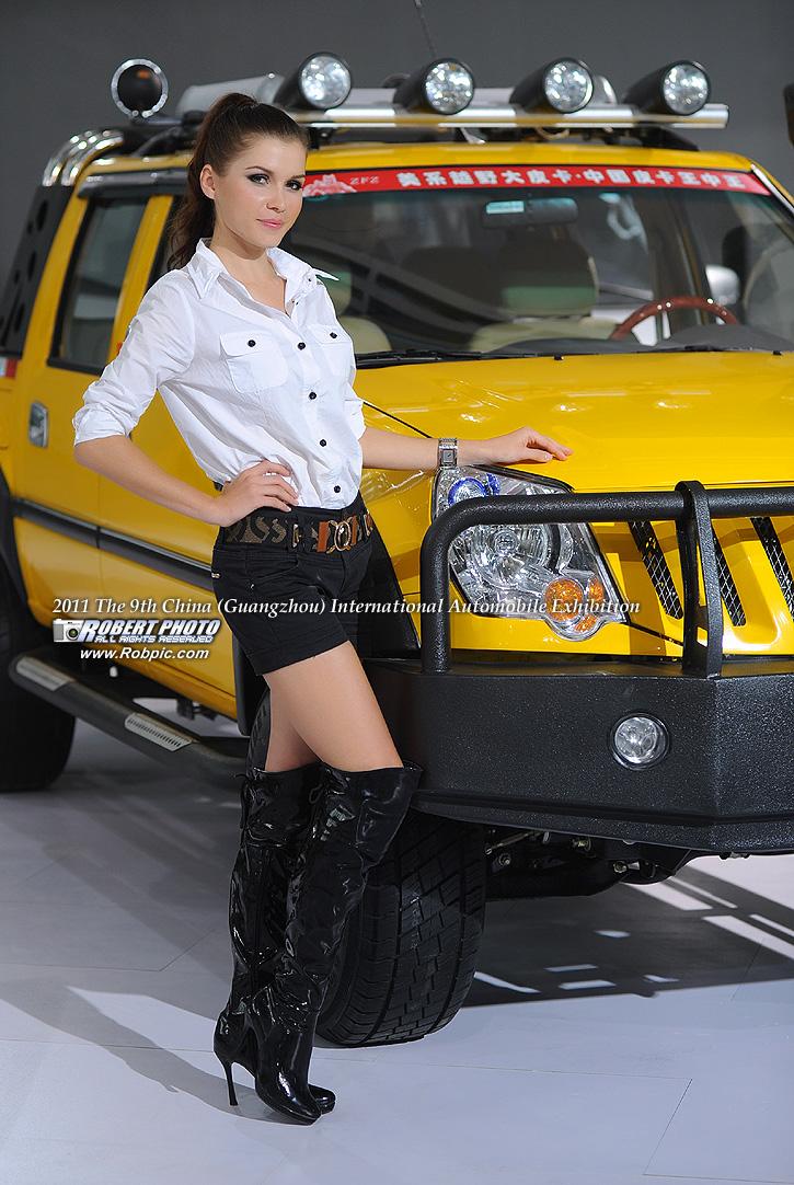 2011第九届广州国际车展 福田汽车车模   www.robpic.com