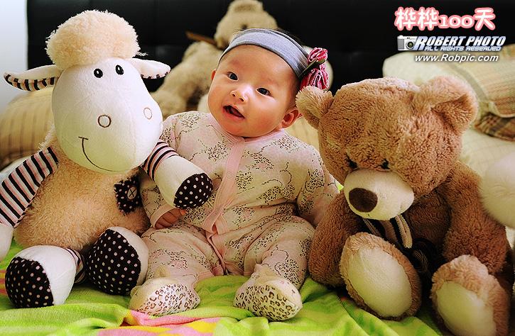桦桦100天  婴儿摄影  www.robpic.com