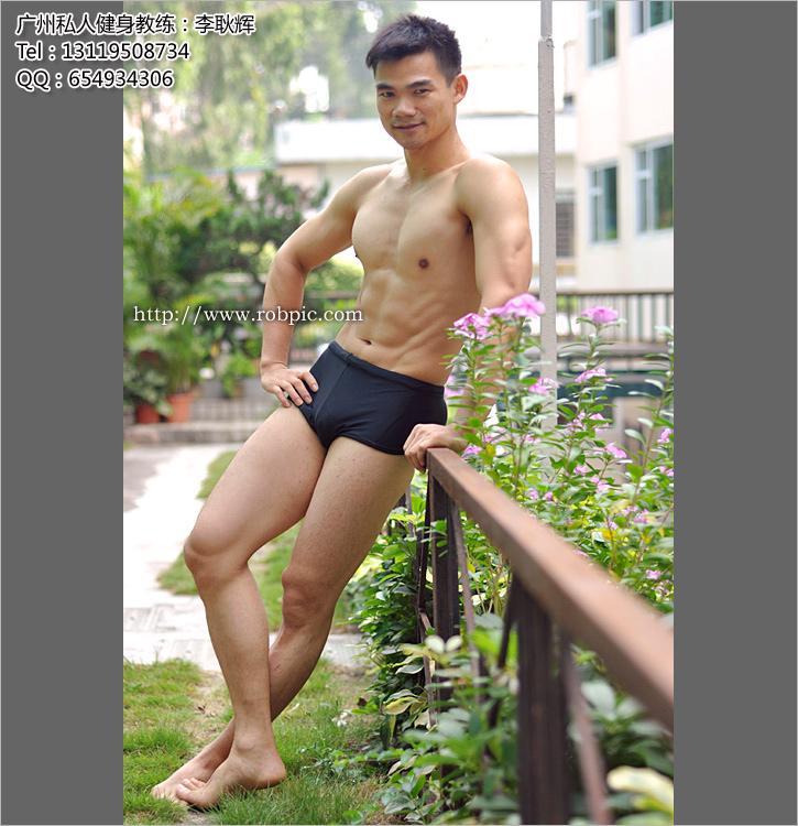 个人写真 广州健身教练李耿辉  www.robpic.com